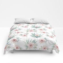 Cactus Rose Succulent Garden Comforters