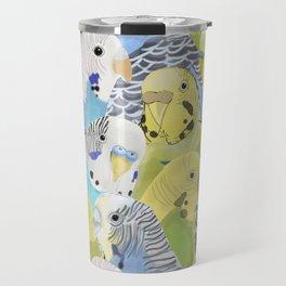 Budgie Parakeets Travel Mug
