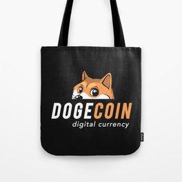 Dogecoin Nascar Tote Bag