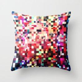 Pixel Play (i) Throw Pillow