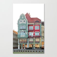 bruck house romania timisoata architecture monument landmark Canvas Print