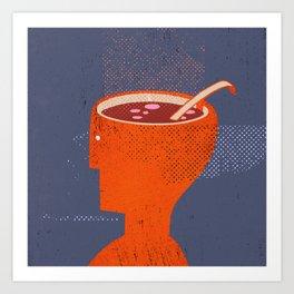 souphead Art Print