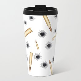 BULLETS N BULLET HOLES Travel Mug