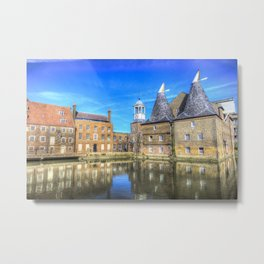 Three Mills Bow London Metal Print