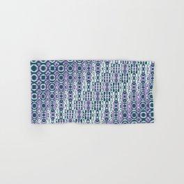 """Cos(a × (n × j^2 + k × i^2)) × 0.7 [""""70s Pattern""""] - [PIXEL ZOOM] Hand & Bath Towel"""