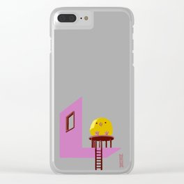 Little Chick ovo Clear iPhone Case
