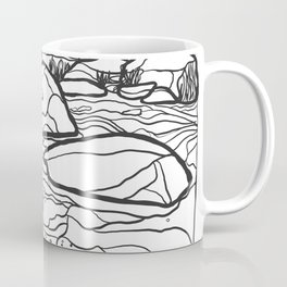 Eno River Sketch 2 Coffee Mug