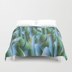 Another Green World Duvet Cover