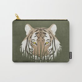 Hiding Tiger Carry-All Pouch