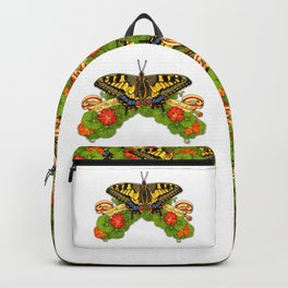 Old World Swallowtail Butterfly Backpack