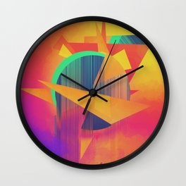 Oatmeal Wall Clock