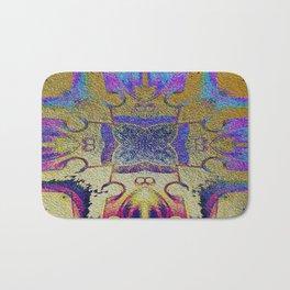 Gold Leaf Layers IV Bath Mat