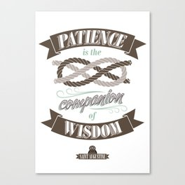 Patience Canvas Print