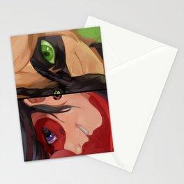 ladybug & cat noir Stationery Cards
