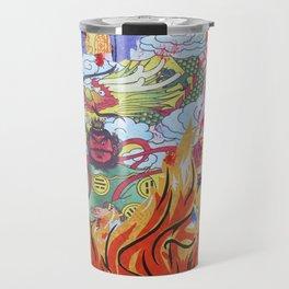 Burnin' Paper Full Canvas Travel Mug