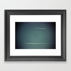 ad: 1 among others seeking connection in the big blue world Framed Art Print