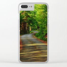 Back Country Roads Clear iPhone Case