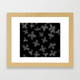 Le Fantôme De Fleurs  Framed Art Print
