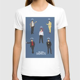 The Usual Suspects, Kevin Spacey, minimalist movie poster, Gabriel Byrne, Singer, Benicio Del Toro, T-shirt