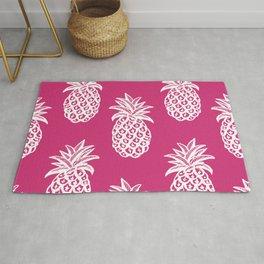 Pink  pineapples Rug
