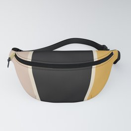 Honey Bee Color Block Fanny Pack