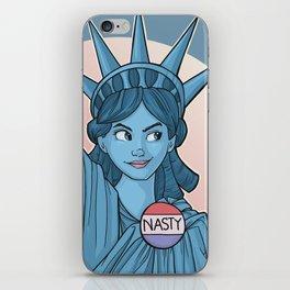 Nasty Lady Liberty iPhone Skin