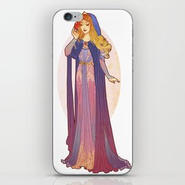 Redesigned Art Nouveau Aurora iPhone Skin
