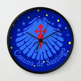 Camino de Santiago Wall Clock