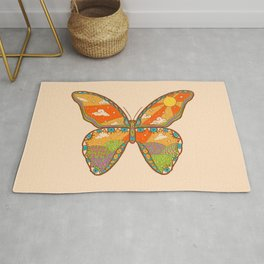 Butterfly Day Rug