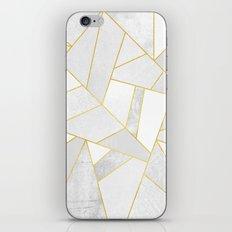 White Stone iPhone Skin