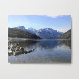 Como Lake Metal Print