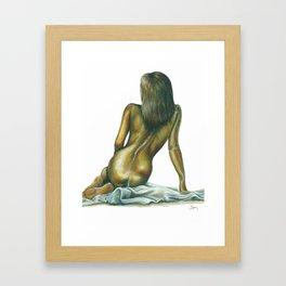 Female figure #1 Framed Art Print