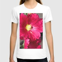 peony T-shirts featuring Peony by Alex Sallade