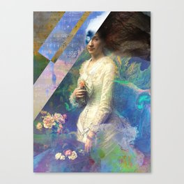 The Syren Canvas Print