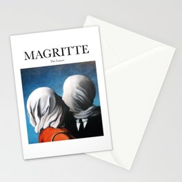 Magritte - The Lovers Stationery Cards