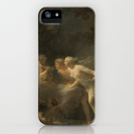 The Fountain of Love by Jean-Honoré Fragonard iPhone Case