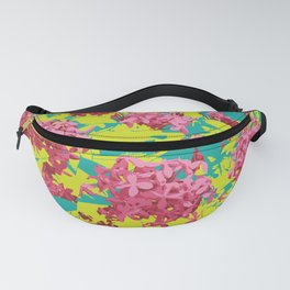 Ixoras in Graphic Fanny Pack