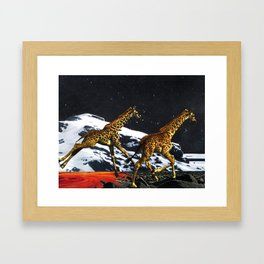 Honeymoon Framed Art Print