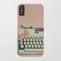 letter iPhone & iPod Cases featuring Love Letter by Cassia Beck