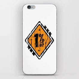 1 Percenter iPhone Skin
