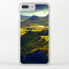 The Mountain Men Clear iPhone Case