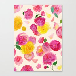 Royal Garden Canvas Print