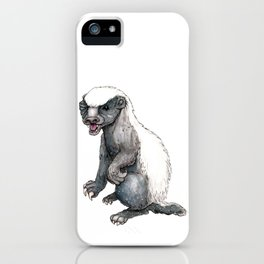 Sassy Honey Badger iPhone Case