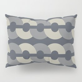 Chains in Cool Gray Pillow Sham