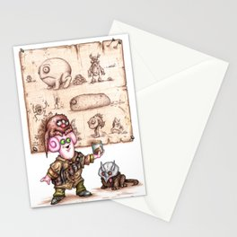 Zlozz and his Poo! Stationery Cards