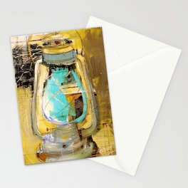 Old Lantern Stationery Cards