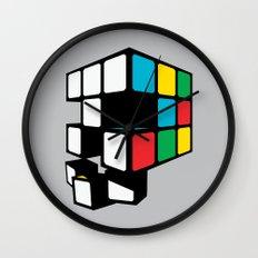 Rubix Skull Wall Clock