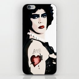 Dr Frank n Furter - Rocky Horror Picture Show iPhone Skin