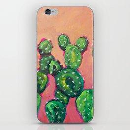 Prickly Pear Cacti iPhone Skin
