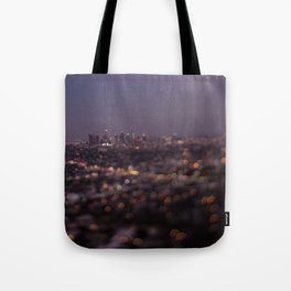 Angel City Lights (L.A. at Night) Tote Bag